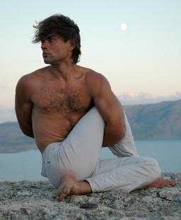 Yoga Half Spinal Twist Pose - Ardha Matsyendrasana
