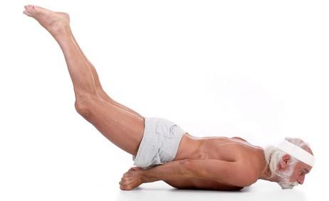 Yoga Locust Pose - Salabhasana