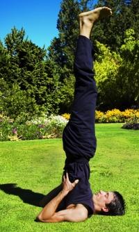 Shoulderstand - Sarvangasana Yoga Pose