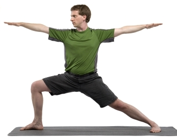 Warrior 2 Yoga Pose - Virabhadrasana II