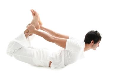 bow pose  dhanurasana  yoga for men guide