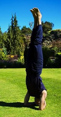 headstand  sirshasana  yoga guide for men